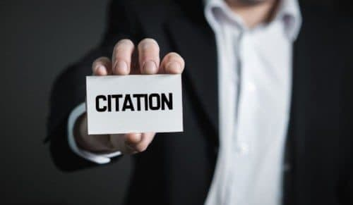 What is a Citation?  Why is it Important?